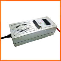 24V 1A Battery Charger 7 step Switchable Reverse Pulse Desulfator Vehicle Battery Charger