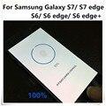 Para samsung galaxy s7/s7edge/s6/s6edge/s6 borda + película de proteção de identificação de impressão digital impressão digital home button adesivo transparente