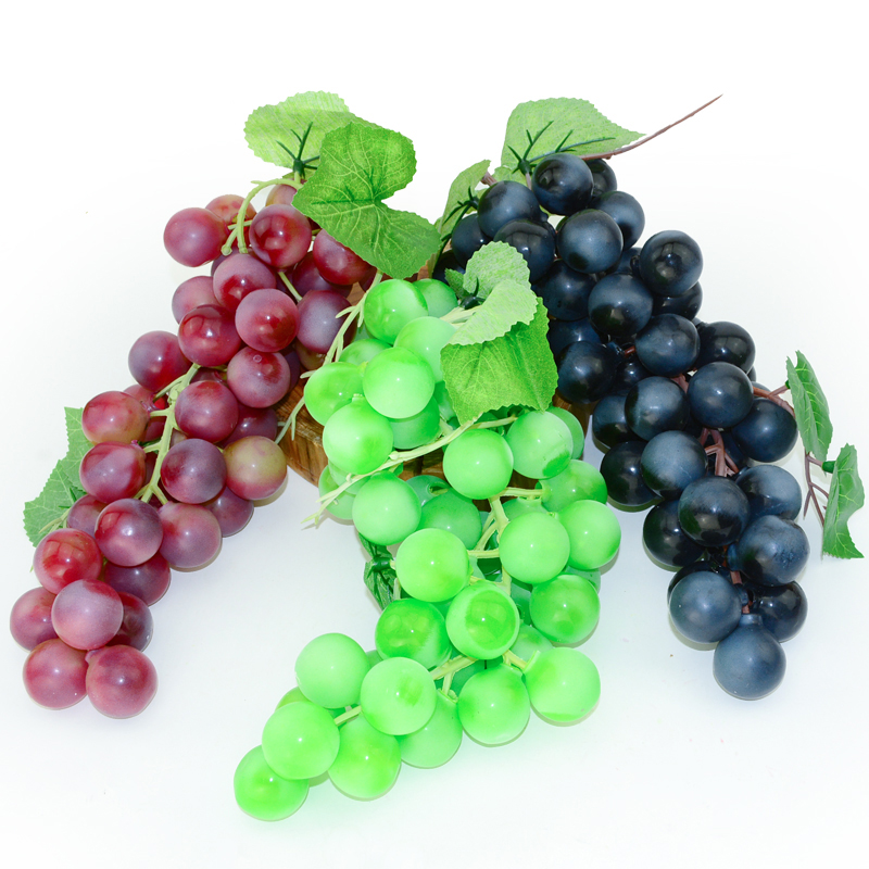 050 Simulation grape Mega wave grape string fake grape string fruit model home decoration photography props in Artificial Foods Vegetables from Home Garden