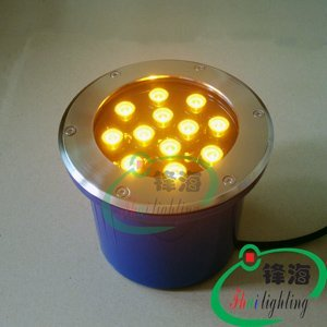 Free shipping wholesale LED underground light,LED Buried lights,LED lamps 12X1W  IP68 Warranty 2 years