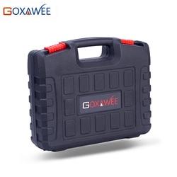 GOXAWEE plastikowe narzędzia futerał do przenoszenia skrzynka narzędziowa do Dremel wiertarka elektryczna narzędzia obrotowe nie obejmują Mini wiertarki i narzędzi obrotowych w Akcesoria do elektronarzędzi od Narzędzia na