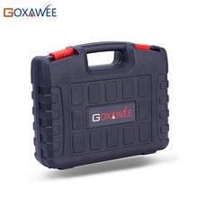 Goxaweeプラスチックツールキャリングケースツールボックスドレメル電動ドリルロータリーツール含めないミニドリルとロータリーツール