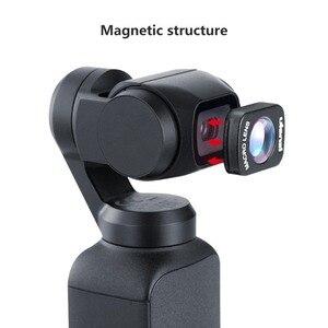 Image 4 - Objectif Macro Ulanzi OP 6 pour poche DJI Osmo, accessoires de poche Osmo professionnels à Structure magnétique HD