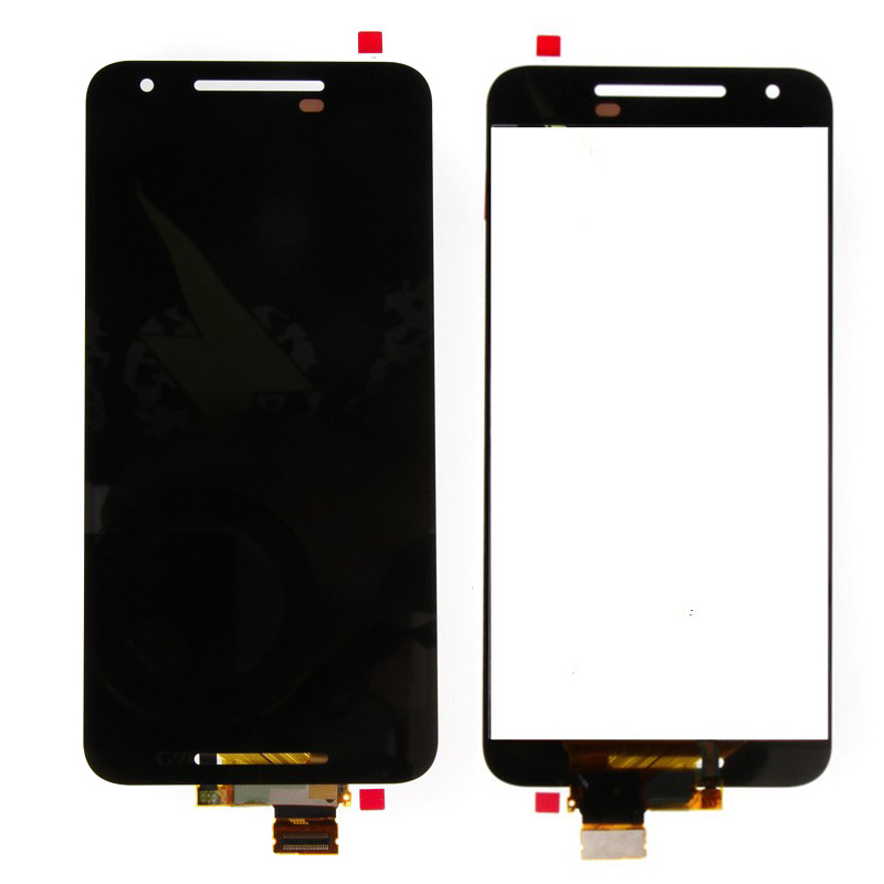 New LCD Display Touch Screen Digitizer Glass Assembly For LG Google Nexus 5X H790 H791 new lcd touch screen digitizer with frame assembly for lg google nexus 5 d820 d821 free shipping