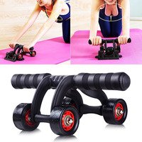 Breaststroke Abdominal Four Wheeled Ab Roller Workout Reduce Injuries Exercise Suit For Beginner Pro Home Gym Fitness Equipment