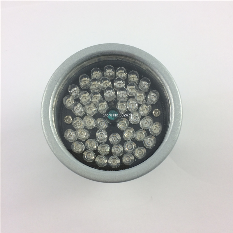 Infrared 48 LED IR illuminator Lights for CCTV Security Camera  Night Vision For Surveillance Camera illuminator light 4 big led cctv ir infrared night vision for surveillance camera security system wholesale free shipping