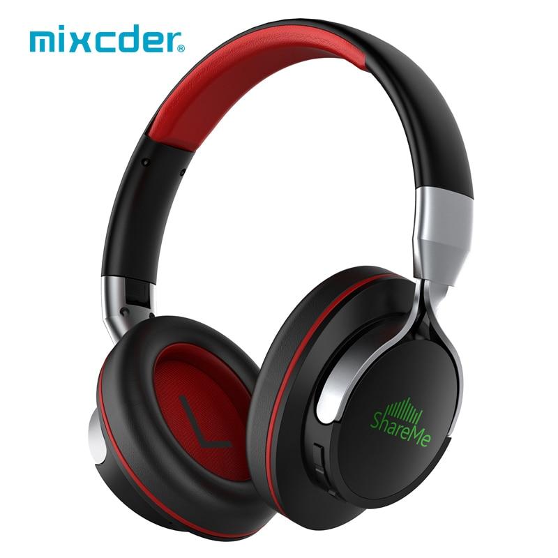 Mixcder shareme7 casque Bluetooth casque sans fil casque pliable casque réglable écouteurs avec Microphone pour TV Smartphone