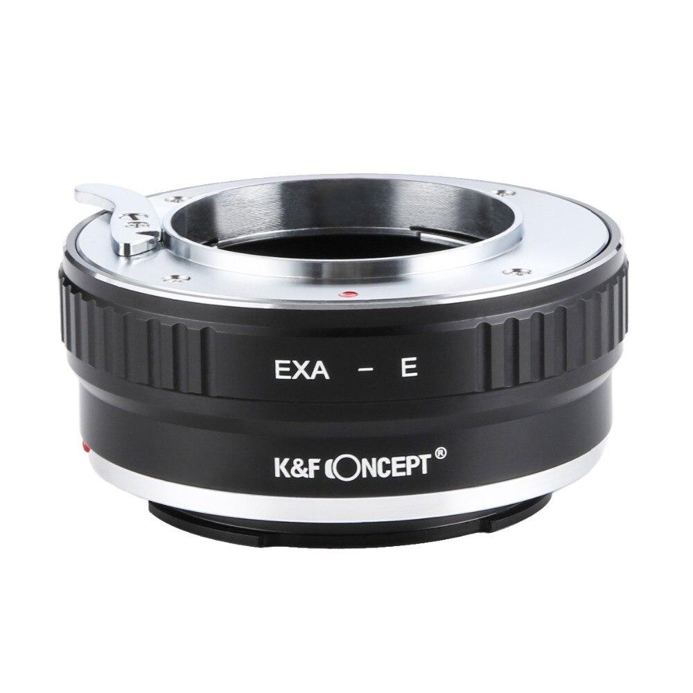 K&F CONCEPT EXA-NEX Lens Mount Adapter Ring For EXAKTA Lens Mount to Sony E Mount Camera bodyK&F CONCEPT EXA-NEX Lens Mount Adapter Ring For EXAKTA Lens Mount to Sony E Mount Camera body