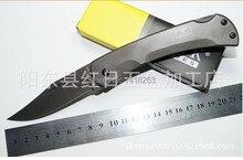 BUCKB41 Newest 58HRC8Cr13MOV Wild Survival Hunting Knives Jungle Tactical Folding Pocket Knife Outdoor Handmade Tools