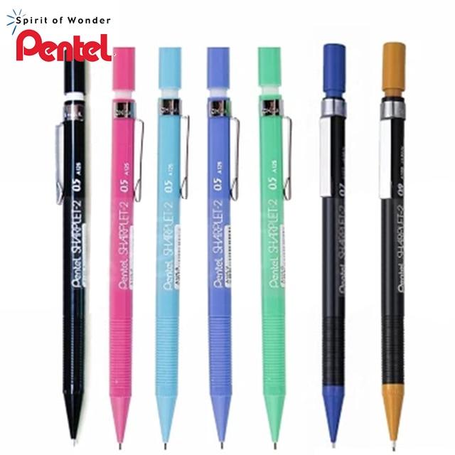 9 조각 일본 Pentel A125 A127 A129 0.9mm 그리기 기계 연필 지우개 고품질