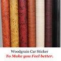 Car Styling 30*200 CM PVC Muebles de Madera Del Grano de Película Del Abrigo Del Coche Del Coche Interior Pegatinas Impermeable Auto-adhesivo Etiqueta Engomada del coche