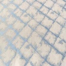 Vintage Stlye Diamond Check tela de poliéster Jacquard tejido sofá antiguo sillón tapicería tela 140 cm ancho Selly por metro