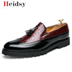 Novos Homens Da Moda sapatos Casuais respirável Mocassins de Couro Escritório Sapatos Para Homens Mocassins Condução Deslizamento Confortável em tamanho Grande 48