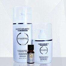 Bazilian keratin smoothing treatment 5% formalin keratin straightening treatment do it at home and deep cleaning hair shampoo