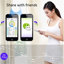 Bluetooth Multi-function Smart Weight Scale body weitht monitor lose weight body Scale Body fat BMI analysis