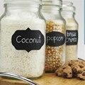 Newest 24PCS New Wedding Home Kitchen Jars Blackboard Stickers Chalkboard Lables