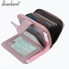 2017 phụ nữ mới ví ví ngắn mục multi chức năng gói thẻ phụ nữ ví dây kéo da giấy phép lái xe trường hợp wom