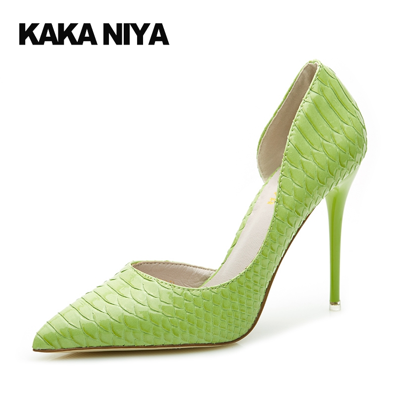2017 Pumps Mint Green Pointed Toe 4 34 Small Size Super Sweet Shoes Spring Fashion Women High Heels Scarpin D'orsay Sweet new 2017 spring summer women shoes pointed toe high quality brand fashion womens flats ladies plus size 41 sweet flock t179