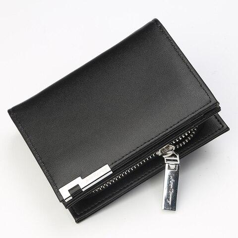 Men Wallets PU Leather Card Holder Purse Short Coin Pocket Male Clutch Money Bag Zipper Wallet Luxury Leather Wallet Carteira Karachi
