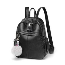 2019 New Women Girls Soft PU Leather anti-theft Casual Backpack Female Travel Daypack Schoolbag lovebook backpack female schoolbag for girls teenagers large women backpack with anti theft external usb ladies bags pu 2018