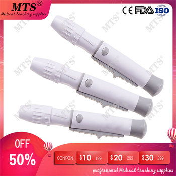 Lancet Pen blood collection pen for Diabetics Collect Blood Adjustable Depth Blood Sampling Glucose Test Pen wolf by wolf blood for blood