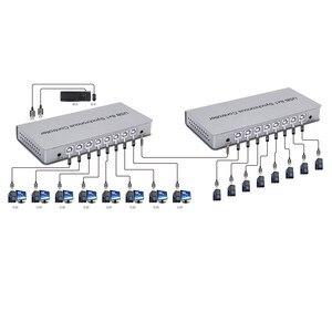 Image 5 - USB di Controllo Sincrono Adattatore 8x1 USB2.0 A B Maschio Connettore Ripetitore Per I Giochi PC Tastiera Mouse KVM Extender Spedizione trasporto libero