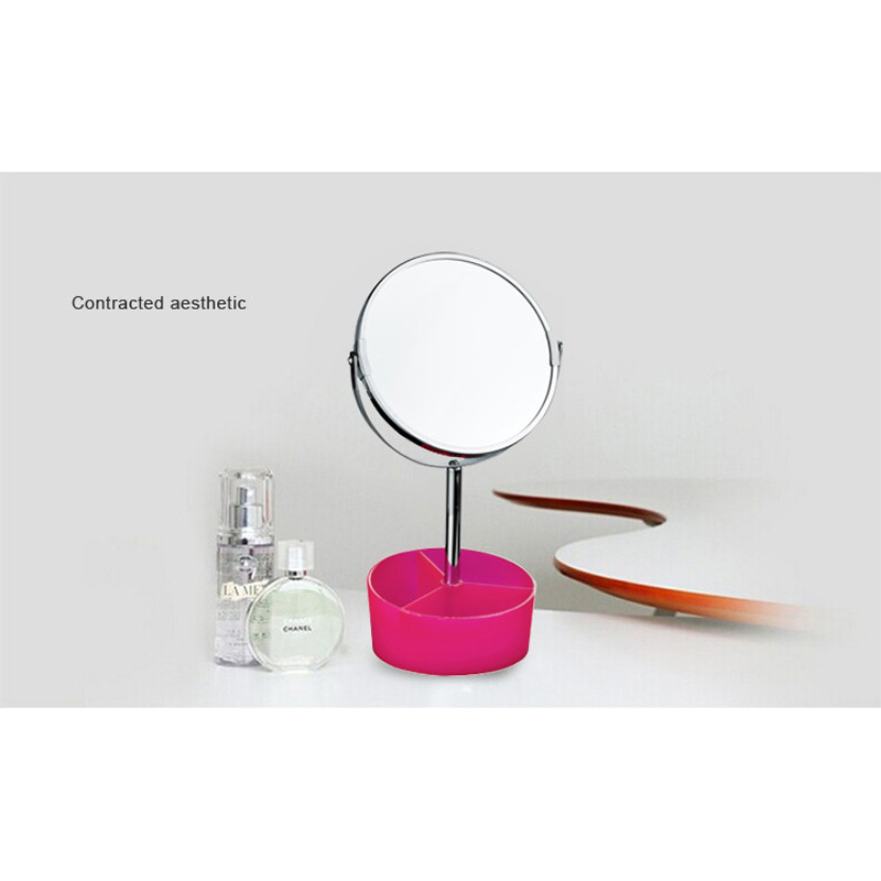 7 Inch Double Side Modern Bath Mirrors Shave Makeup Extend Arm 3x Magnifying Espelho Do Banheiro Bathroom Sanitary Accessories they do it with mirrors