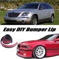 Передний Спойлер бампера Губы Губы Дефлектор Для Chrysler Pacifica Юбка Для Вид Автомобиля Тюнинг/Обвес/Полосы
