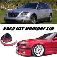 Bumper Lip Deflector Lips For Chrysler Pacifica Front Spoiler Skirt For Car View Tuning / Body Kit / Strip