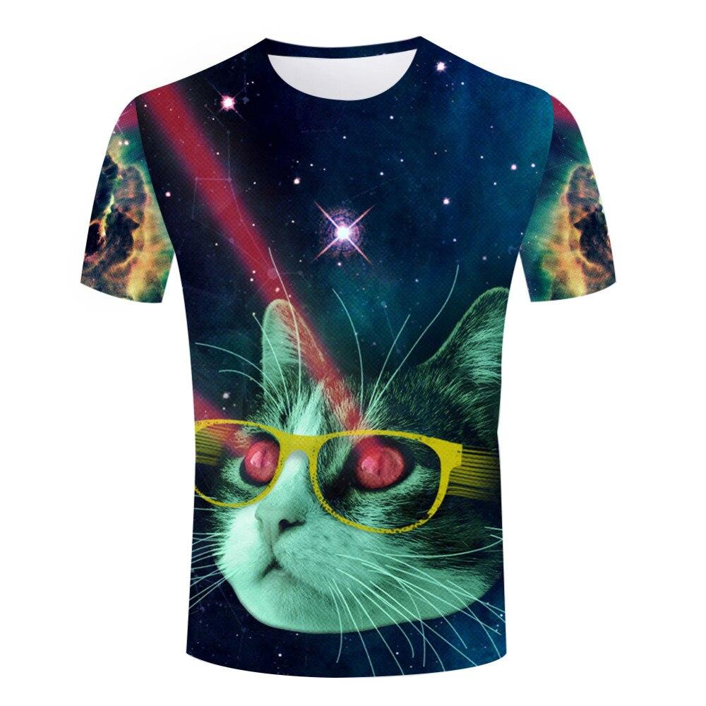 Online Get Cheap Galaxy Cat Shirt