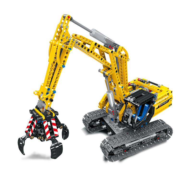 38014 City 2 in 1 Compatible Legoing Technic Excavator Model Without Motors Kit Building Blocks Brick For Children gift Toys
