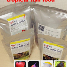 free shipping  tropical fish food high Protein -200g shipiing