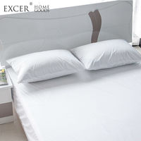 Queen Size Mattress Protector Hypoallergenic Waterproof Mattress Covers Premium Twin King Size Smooth Soft Cotton Terry Cover