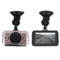 3 Inch Car Auto Camera DVR Dash Cam HD 170 Degree Dual Lens Night Vision