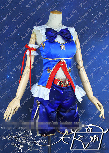 Sakura Kyouko Uniforms From Puella Magi Madoka Magica Constellation SSR Card Lolita Dress Cosplay Costume Custom Made Free Shipp
