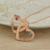 Nome personalizado Rose Banhado A Ouro Coração Casais Colar Vertical Dupla Corações Colar 2 Nomes Colar De Presente do Dia Dos Namorados