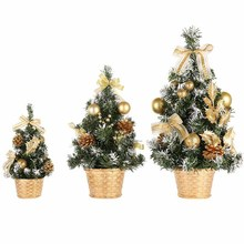 Mini Artificial Trees Christmas Decorations For Home