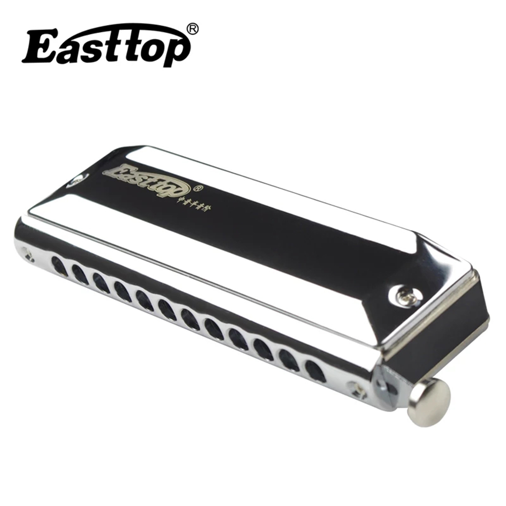 Easttop Chromatic Harmonica Alto Chromatic Harp Lower An Octave Than C 12 Holes Mouth Organ Musical Instruments  East Top T1248Z-in Harmonica from Sports & Entertainment    1