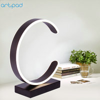 ArtPad Modern Home Art Decor Desktop Lamp Acrylic Lampshade AC220V Plug In LED Table Lamps for Bedroom Study Reading Light