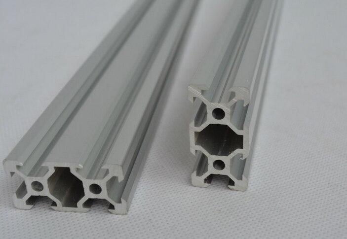 V fente rail profilé en aluminium extrusion 2040 CNC machine prix de construction pour 4 pièces * 50 cm/set POM delrin roues v fente livraison gratuite