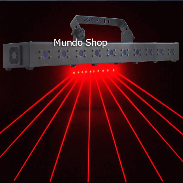 1w High Brightness Red Laser Light Curtain 10 Heads