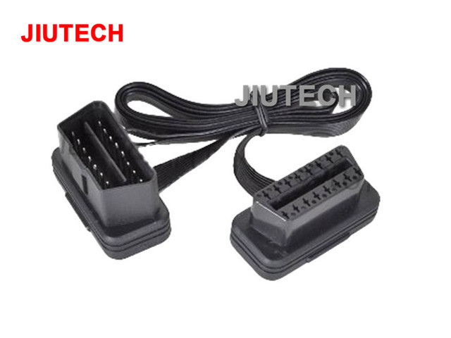 US $19 99 |30CM OBD2 16pin Male to Female Extension Cable For Torque Pro  Elm 327 OBD Car Diagnostic Interface Connector cable Bluetooth on