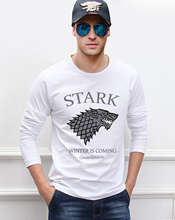 Men's Game of Thrones Themed T-Shirt with Long Sleeves