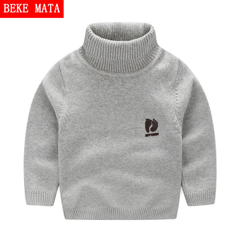 Kids Children Sweaters Winter 2016 Casual Turtleneck Knitted Sweaters For Girls Warm Boy Sweaters Cotton Girls Cardigan Clothes children autumn and winter warm clothes boys and girls thick cashmere sweaters