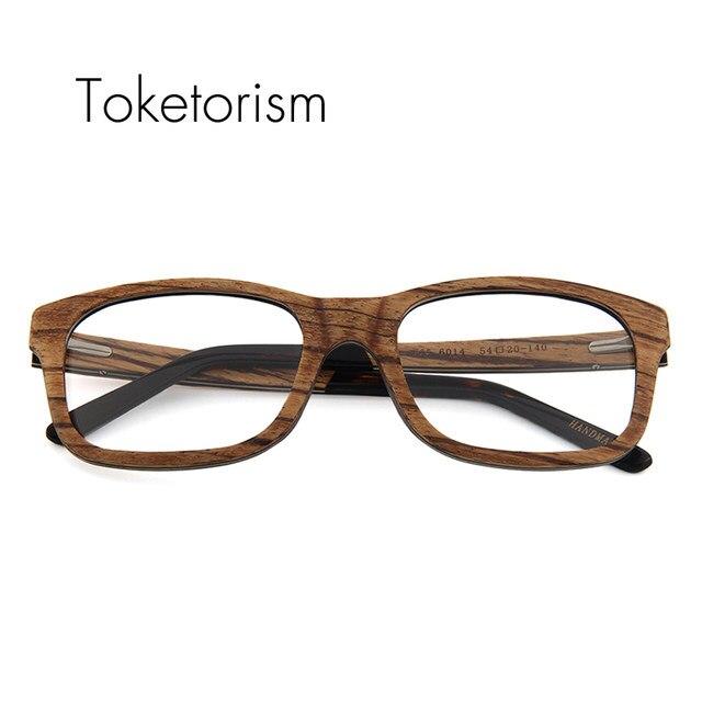 Online Shop Toketorism vintage wooden glasses frames men women ...