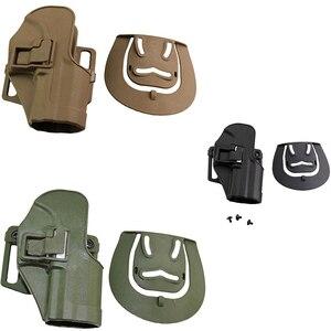 Аксессуары для стрельбы из страйкбола Serpa CQC HK USP поясная кобура из полимера Blackhawd правая рука кобура пистолет охотничье оборудование