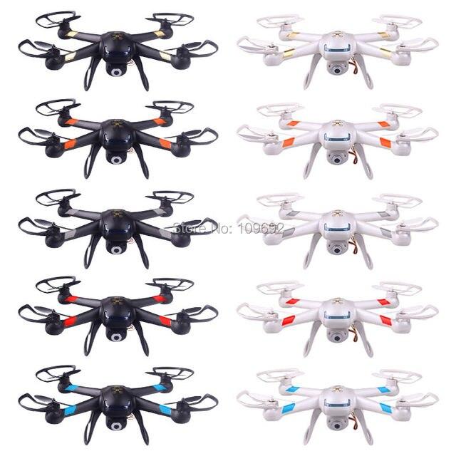 Бесплатная доставка RC дроны обновление GW007-1 DM007 GW007 с десятью цветов можно добавить HD 2MP камеры 6-Axis 2.4 г 4CH Quadcopters ко X5C X600