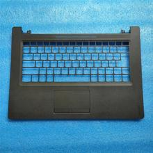 New For Lenovo  IdeaPad 110-14IBR  TOP COVER Palmrest Upper Case +Touchpad new palmrest upper case cover for lenovo ideapad y570 ap0hb000600 with touchpad c shell