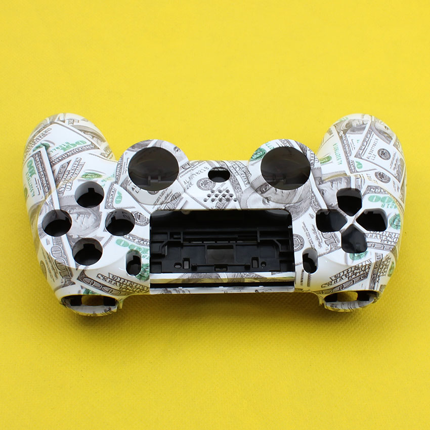 Cltgxdd For PS4 Controller Case Front Back Upper Under Cover Housing Controller Shell For Sony Dualshock 4 Gamepad Smooth