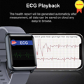health blood pressure wrist band heart rate monitor PPG ECG smart bracelet sport watch Activity fitness tracker wrist watches